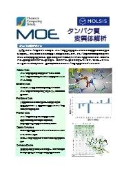 統合計算化学システム『MOE』 タンパク質変異体解析 表紙画像