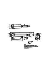 電動アクチュエータ『805型』 ポテンショメータ図面 表紙画像
