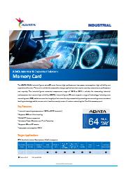 産業向けmicroSDカード IDU3A (A+SLC) 表紙画像