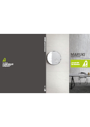 【最新・2021年版】タイル総合カタログ『MARUKI CERAMIC TILE』 表紙画像