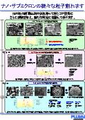 ナノ・サブミクロン粒子 製造技術 表紙画像