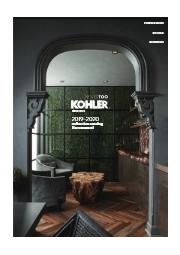 【無料進呈中】KOHLER(コーラー)総合カタログ Recommend(2019-2020) 表紙画像