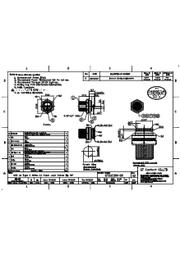 防水コネクタ USB3.1 typeCコネクタのIP67規格対応 ※仕様書(GT21C300-20_02) 表紙画像