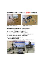 超音波発振システムを利用した、音響流の制御技術 表紙画像