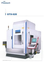 門型5軸マシニングセンター『GTX-620』 表紙画像