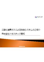 【技術資料】二酸化塩素ガスによる除染システムのご紹介 表紙画像