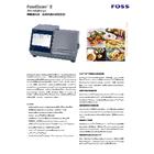 栄養成分用近赤外成分測定装置『FoodScan2』 表紙画像