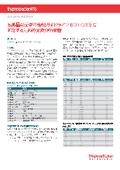 【アプリケーションノート】医薬品の元素不純物ガイドライン(ICH-Q3D)に 対応するための元素分析装置