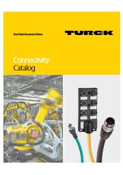 産業用防水コネクタ、コードセット 総合カタログ 表紙画像