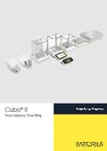 モジュラー式ラボ用電子天びん『Cubis II』 表紙画像