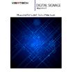 デジタルサイネージ 製品カタログ 表紙画像