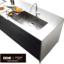 システムキッチン スクエアシンクとレザー調扉面材標準設定。デザイン性の高い『渡辺パイプ X 永大産業オリジナルキッチン 304』 表紙画像