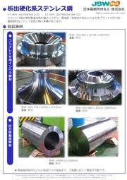析出硬化系ステンレス鋼 表紙画像