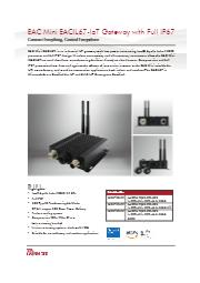 IP67準拠  IoTゲートウェイ EACIL67 表紙画像