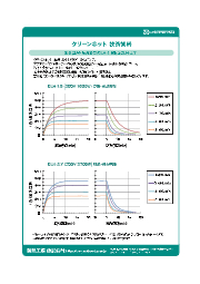 【クリーンホット技術資料】2-2.昇温・降温特性(CLH-1.8及びCLH-2.7) 表紙画像