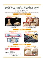【資料】改質たん白が変える食品物性 表紙画像