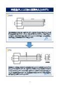 内径逃がしによる加工品質向上と金属加工のコストダウン事例 表紙画像