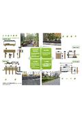 環境整備資材『再生プラスチック製 擬木 』