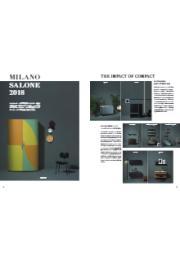キッチン 『sanwacompany(サンワカンパニー) ミラノサローネ出展モデル 8点のコンパクトキッチン』カタログ 表紙画像