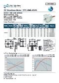 ブラシレス直流モータ『STCーBMI4545シリーズ』 表紙画像