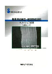 金属表面処理『クリーンエス処理』総合カタログ 表紙画像