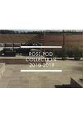 カタログ『ROSE POD COLLECTION 2018-2019』