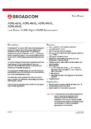 CMOSフォトカプラ『ACPL-x6xLシリーズ』 表紙画像