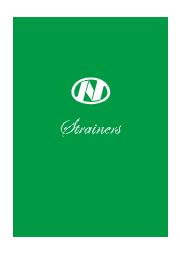 ストレーナ 製品カタログ 表紙画像