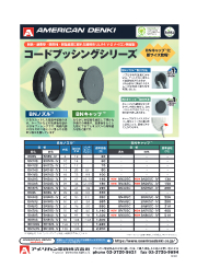 コードブッシングシリーズ BNノズル/BNキャップ 表紙画像