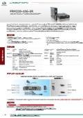 【1Gbps~10Gbpsマルチレート SFP/SFP+】3R マルチレートトランスポンダー:FRM220-10G-3R