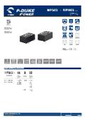 P-DUKE【MPS02】医療用(2MOPP) 高絶縁耐圧 2W DC/DCモジュール 表紙画像