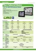 IEI 産業用液晶ディスプレイモニター DM-Fシリーズ カタログ 表紙画像