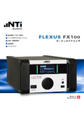音響計測システム FX100 表紙画像