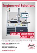 【製品カタログ】全自動表面粗さ測定機 for ヘリカルギヤ『MarSurf Engineered S1300』 表紙画像