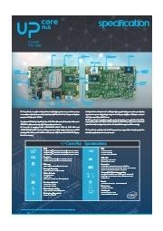 ロボット/IoTエッジ端末用小型CPUボード【UP Core Plus】 表紙画像