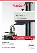 【製品カタログ】表面粗さ・輪郭形状 統合測定機『MarSurf LD/UD』 表紙画像