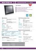 19型第6世代Core-i5-6200U-2.3GHz CPU搭載の高性能ファンレス・タッチパネルPC『WLP-7F20-19』 表紙画像