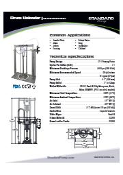 サニタリー ドラムアンローダー(ピストンポンプ式) SPTSU12PPBSS 表紙画像