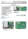 Jetway 3.5インチシングルボードコンピュータ【JR3399X-2C】
