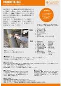 手塗り型ポリウレア『NUKOTE BG』【塗装材料】 表紙画像