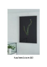 Aluna Frame Collection 2021 表紙画像