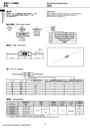 雷サージ対策用部品サージアブソーバ DSS 表紙画像