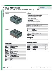 AAEON 産業用小型PC【PICO-KBU4-SEMI】 表紙画像