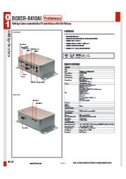 AIエッジ向け産業用PC【BOXER-8410AI】 表紙画像