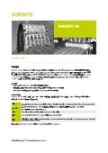 耐摩耗肉盛鋼板 DUROXITE 100 データーシート【日本語版】 表紙画像