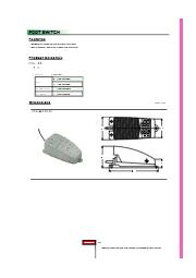 EFSシリーズ、フットスイッチ(台湾製) 表紙画像