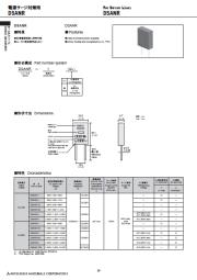 電源サージ対策用サージアブソーバ DSANR 表紙画像