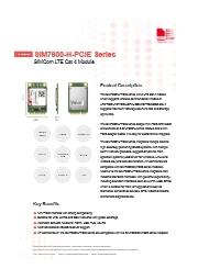4GLTE対応 モジュール【SIM7600JC-H-MPCIe】 表紙画像