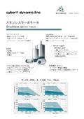 cyber dynamic line 小型ブラシレスサーボモータ フライヤー