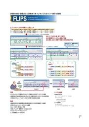 時系列イベント管理ソフトウェア FLIPS  表紙画像